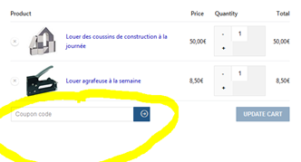 boutons en anglais woocommerce